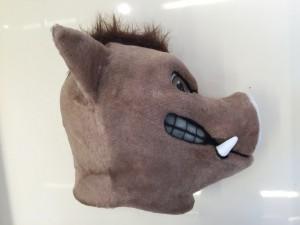 Wildschwein-Lauffigur