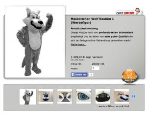 Wolf-Kostüm Kopie