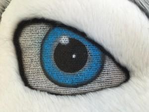 Wolf-Kostüm-Maskottchen