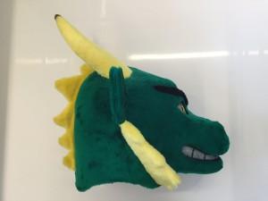 Drachen-Maskottchen