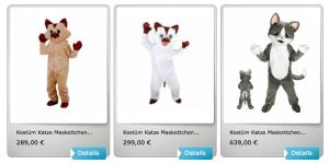 Katzen-33p-Kostüme