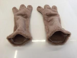 hasen-Kostümen-Maskottchen