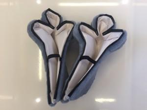 187b-Yeti-Maskottchen-Lauffigur-Kostüm