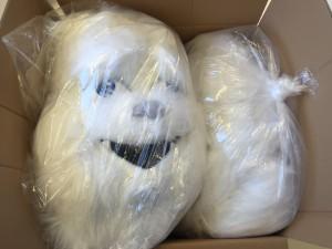 187b-Yeti-Maskottchen-Lauffigur-Kostüme