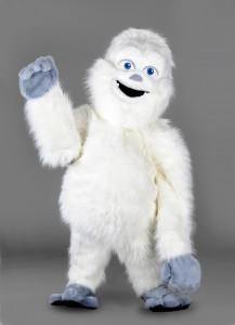 187b-Yeti-Maskottchen-Lauffiguren-Kostüme