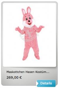 74p-Hase-Kostüm