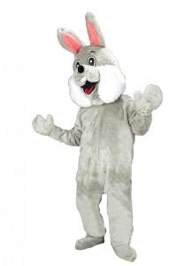 Promotion-günstig-Plüschkostüm-Kostüm-74p-grau-Osterhase