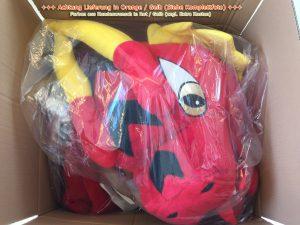 244c-Drachen-Lauffigur-Maskottchen
