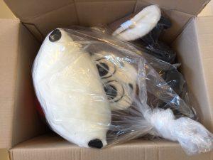 50A-Kuh-Lauffigur-Maskottchen-Kostüm