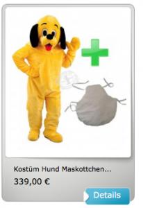 Hund-16p-Kostüme-Lauffigur