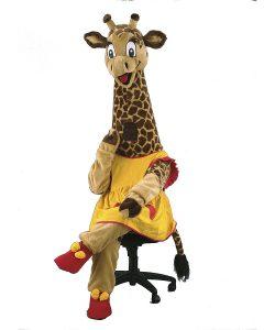 122c-Maskottchen-Giraffen
