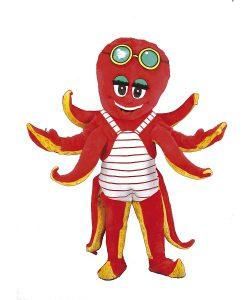 160c-Kostüm-Tintenfisch