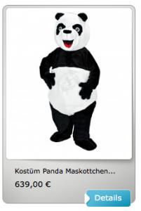 200b-Kostüme-Panda-Maskottchen