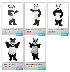 200b-Panda-Kostüme