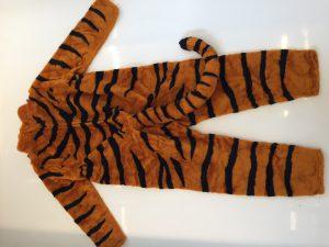 Kostüm-Tiger-Lauffigur