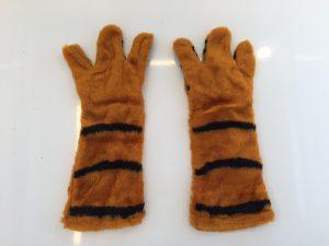 Kostüm-Tiger-Lauffigur-Maskottchen