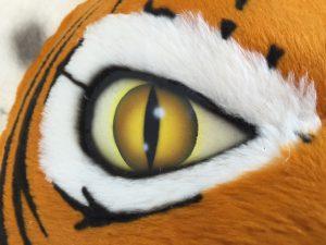 Tiger-Kostüm-Lauffigur