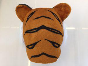 Tiger-Kostüm-Lauffigur-Maskottchen