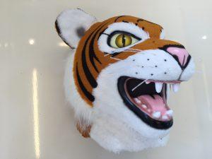 Tiger-Kostüm-Lauffiguren