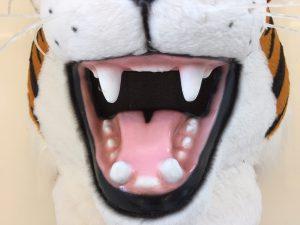 Tiger-Kostüme-Lauffigur