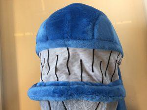 Wal-247c-Kostüm-Maskottchen