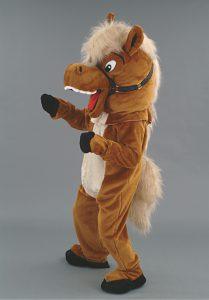 99A-Maskottchen-Pferd