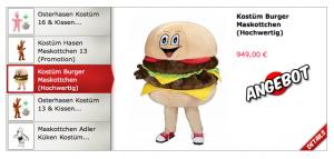 Burger-Kostüm-234s-Lauffiguren