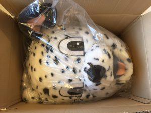 Dalmatiner-Lauffigur-Maskottchen-Kostüm-10a