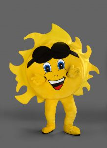 Sonnen-Kostüm-243b-Lauffiguren