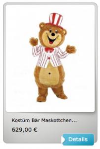 Kostüm-günstig-Bär