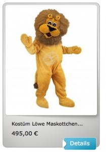 Kostüm-günstig-Löwe