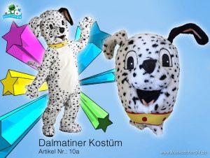 10a-Dalmatiner-Maskottchen-Kostüm