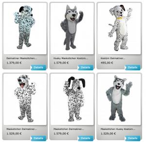 Dalmatiner-Kostüme-Lauffigur