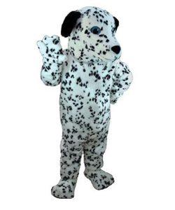 Dalmatiner-Maskottchen-Kostüm-Lauffiguren