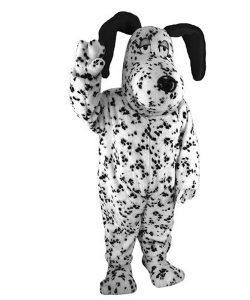Dalmatiner-Maskottchen-Lauffiguren