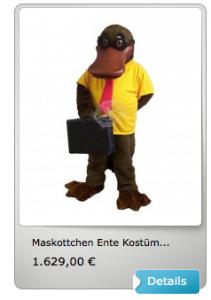 Enten-Kostüme