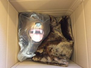 Grizzly-Lauffigur-Kostüm-Bär