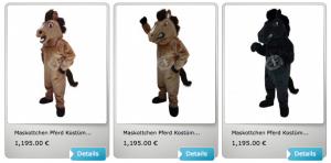 Pferd-Kostüme