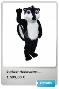 Stinktiere-Kostüm
