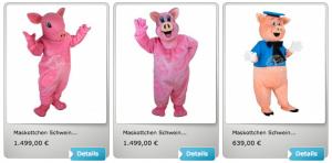 schweine-kostueme-maskottchen