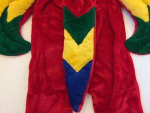 40a-papagei-lauffiguren-maskottchen