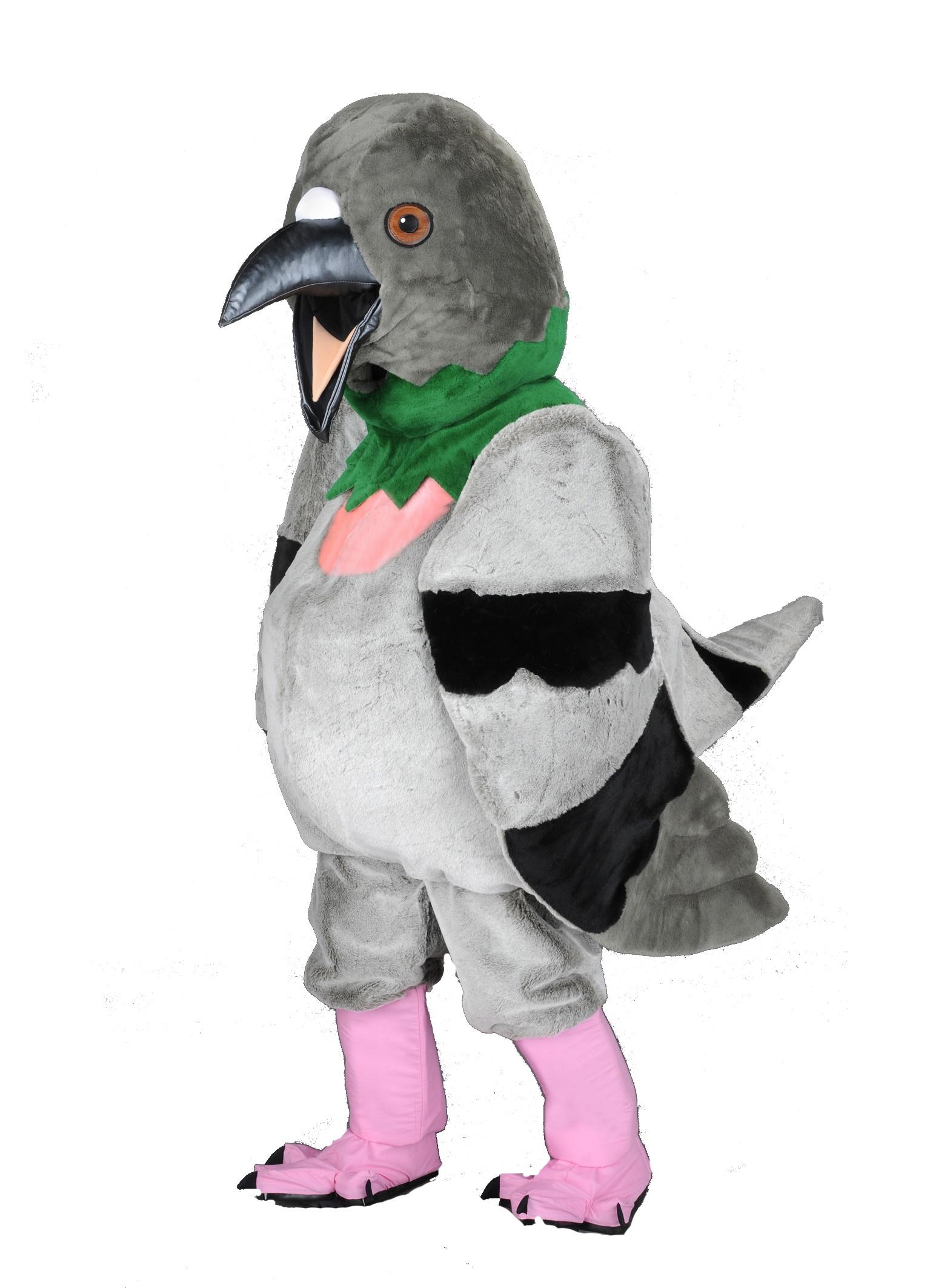Tauben Kostüm Maskottchen Promotion Lauffigur