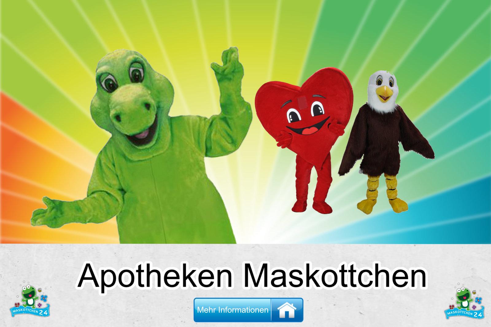 Apotheken Maskottchen Kostüm Herstellung Bau günstig kaufen