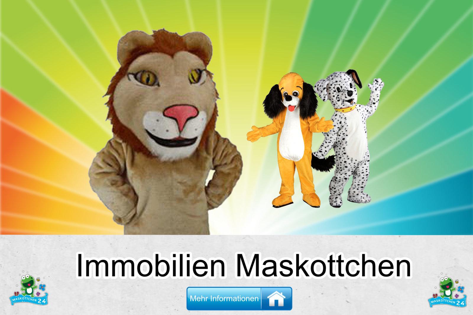 Immobilien Kostüme Maskottchen Herstellung Firma günstig kaufen