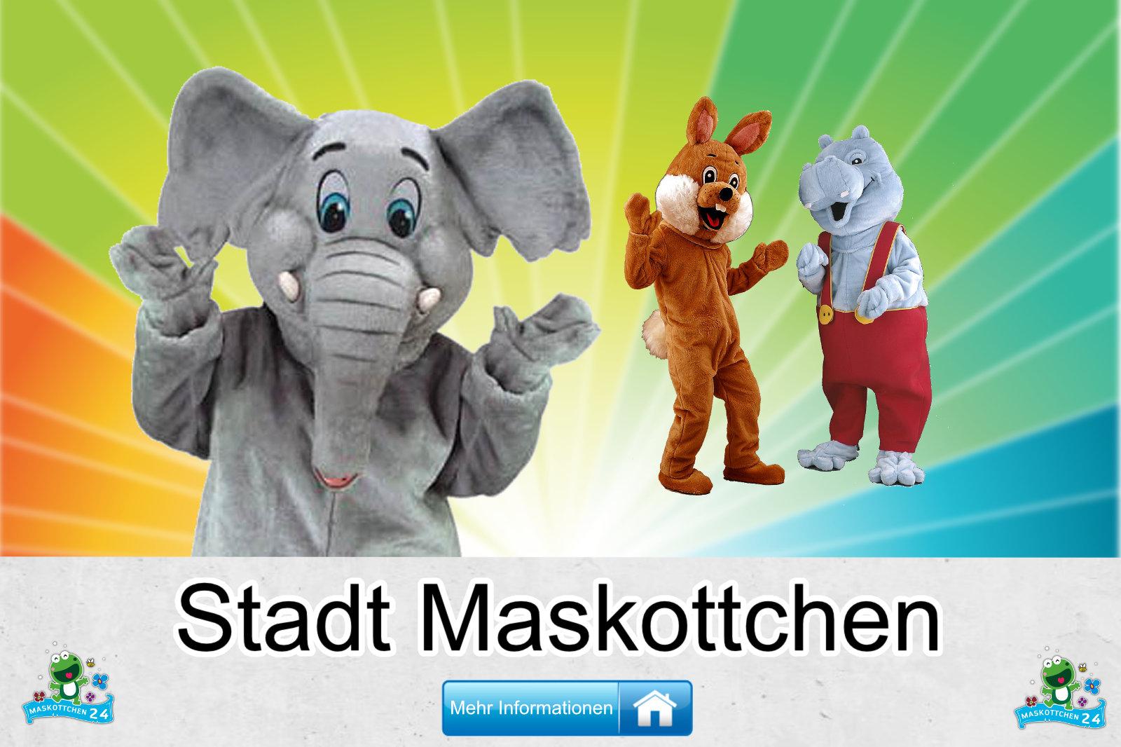 Stadt Kostüme Maskottchen Herstellung Firma günstig kaufen