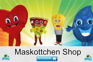 Maskottchen Shop