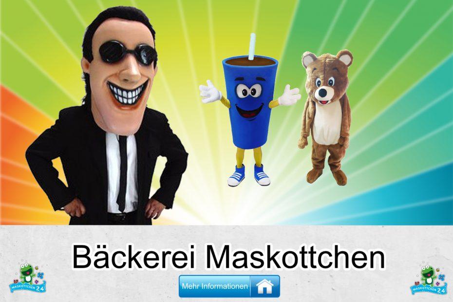 Bäckerei Kostüme Maskottchen Karneval Produktion Firma Bau