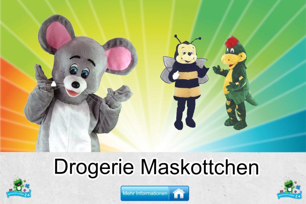 Drogerie Kostüme Maskottchen Karneval Produktion Firma Bau