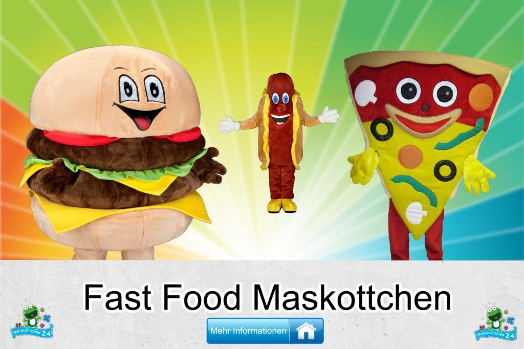 Fast Food Kostüme Maskottchen Karneval Produktion Firma Bau