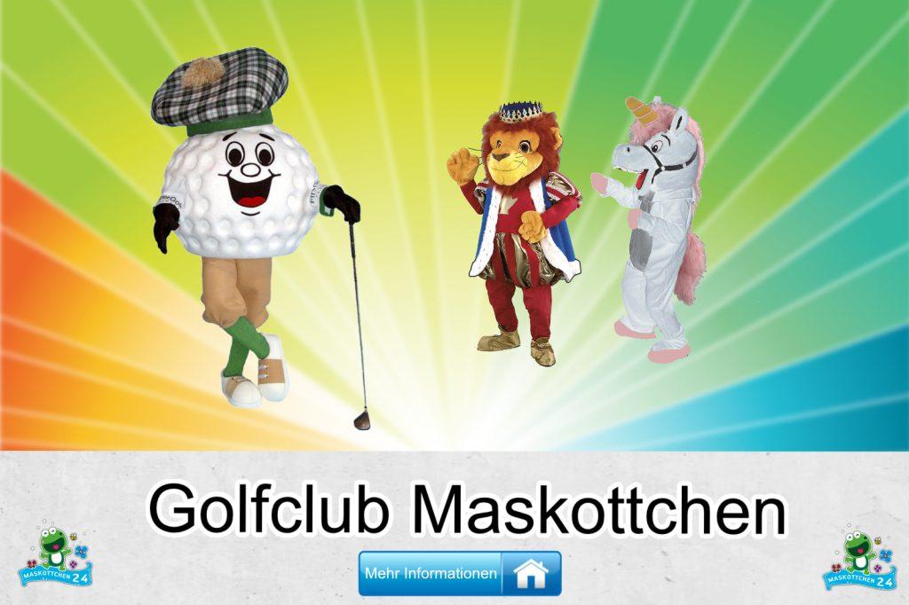 Golfclub Kostüme Maskottchen Karneval Produktion Firma Bau